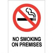 No Smoking safety sign - No Smoking On 018